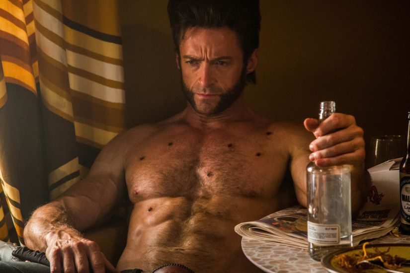 hugh jackman as logan / wolverine in x men days of future past 2014