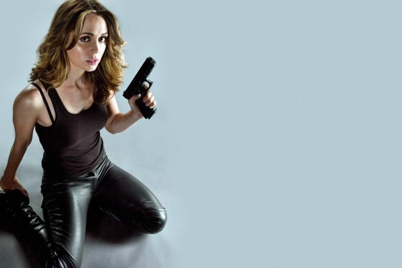 <b>Eliza Dushku</b> - Hollywood - Actress Wallpapers Download FREE