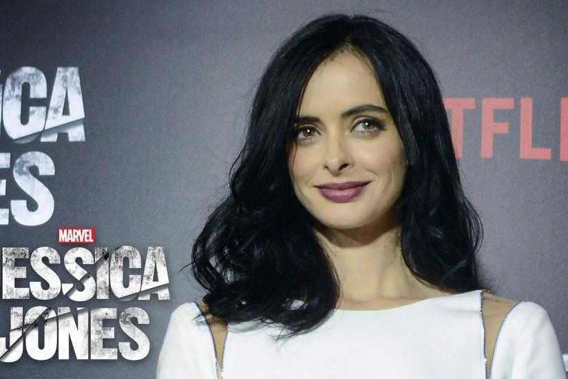 Krysten Ritter is Jessica Jones - Marvel's Jessica Jones Red Carpet -  YouTube
