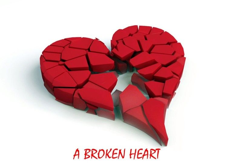 A broken heart love 3D wallpaper | HD Wallpapers Rocks