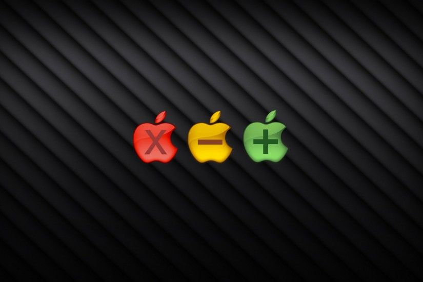 3840x2160 Wallpaper colorful, logo, firm, popular, apple, mac
