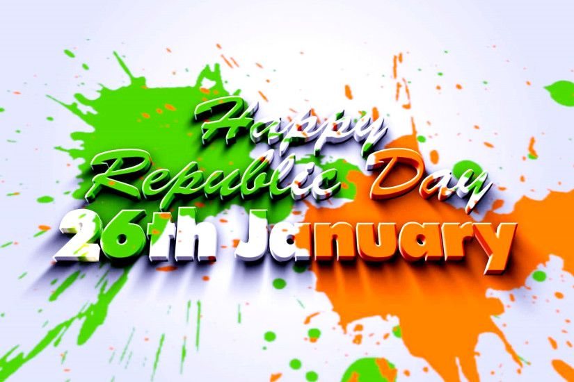 ... Free Download of Republic Day 2017, 2018, 2019, 2020 Wallpaper with  Abstract Tricolor