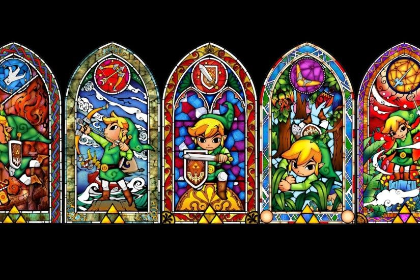 1920x1080 Wallpaper the legend of zelda, windows, elf, character, link