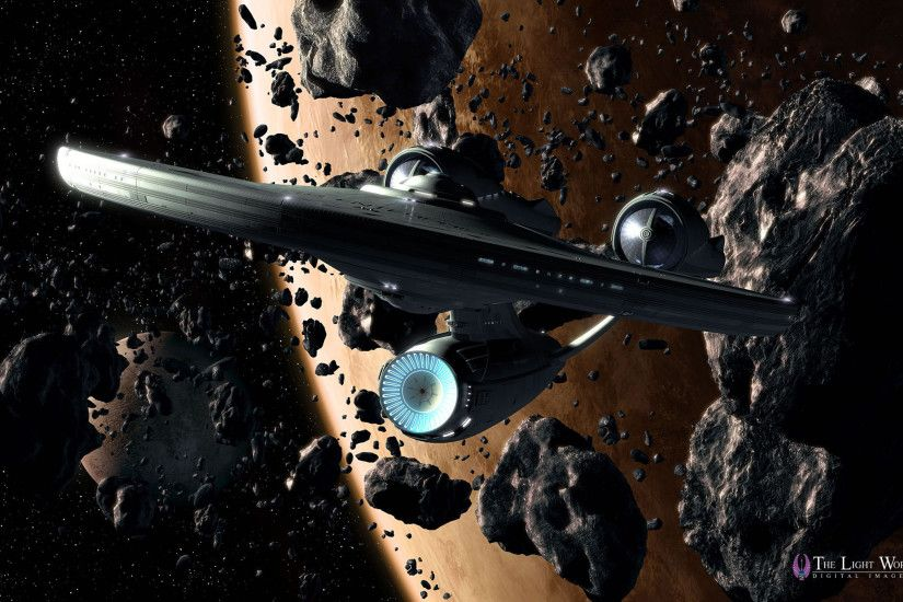 3d star trek enterprise wallpaper -#main
