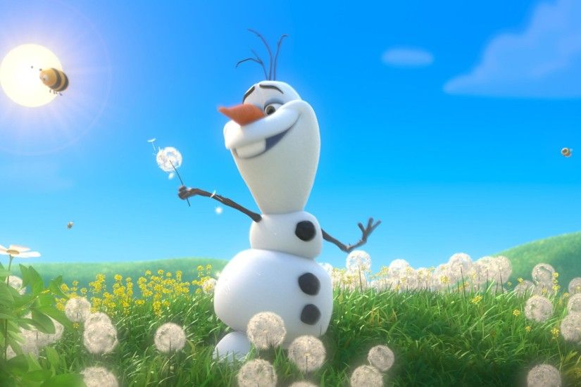 Olaf With Spring