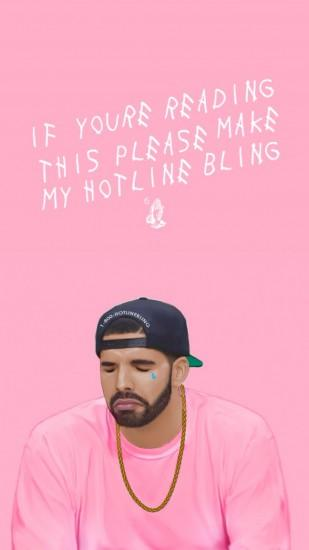 cool drake wallpaper 1080x1920 for iphone