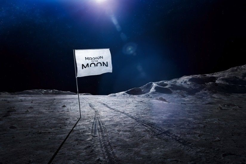 Space / Mission to the Moon Wallpaper
