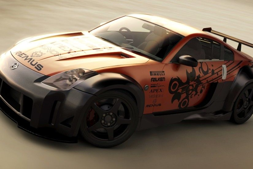 Nissan 350Z desktop wallpaper