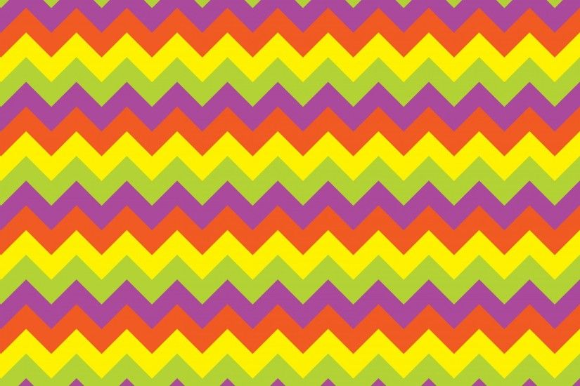 Colorful Zigzag Stripes Background