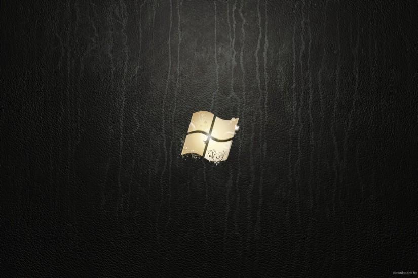 HD Windows 7 Ultimate Leather wallpaper