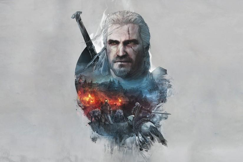 widescreen witcher wallpaper 2818x1585