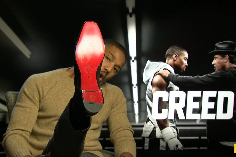 JOE meets Michael B. Jordan to chat about the new Rocky film, Creed -  YouTube