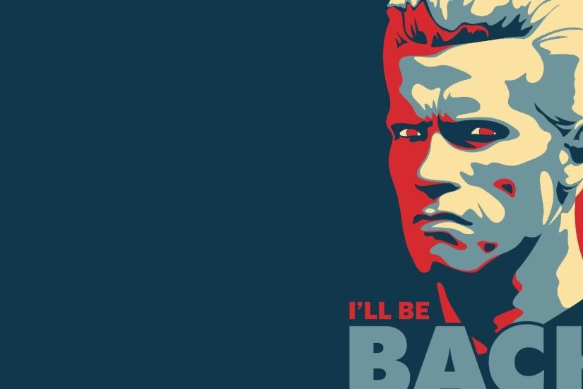 Quotes Arnold Schwarzenegger Terminator Movies Posters Satire Vector Art  #quotes #wallpapers