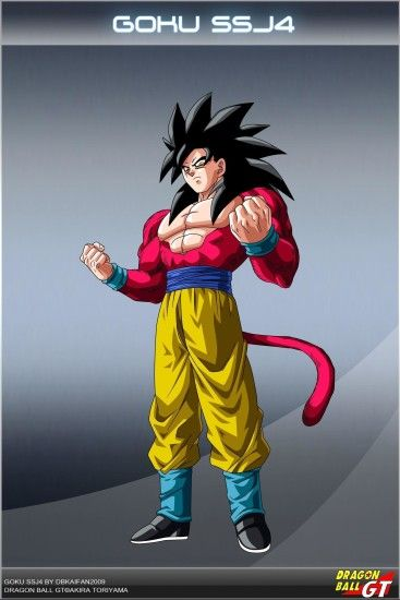 Dragon ball gt goku ssj4 os by dbcproject on deviantart