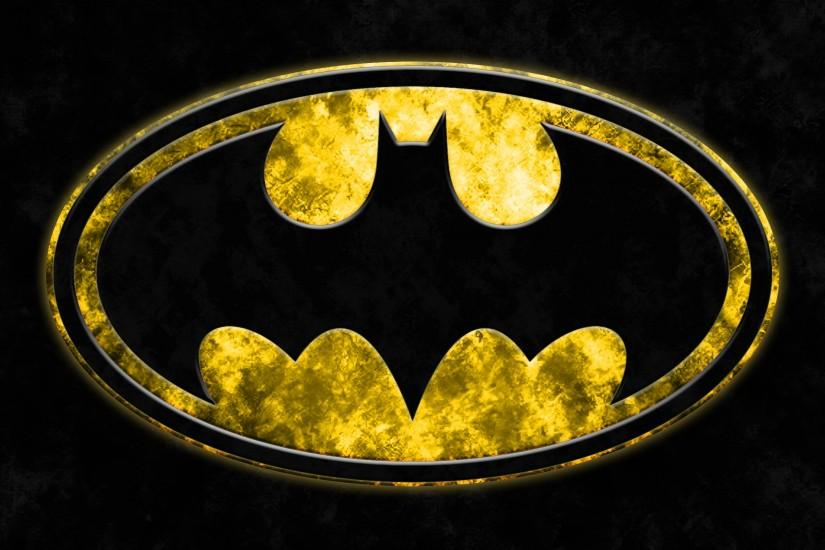 batman logo wallpaper 2732x1536 tablet