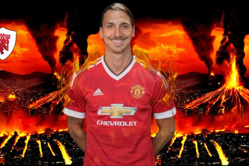 ... Zlatan Ibrahimovic Wallpaper [Manchester United] by MUFCREPORT