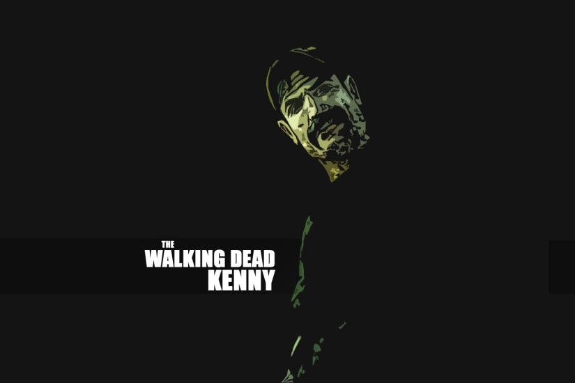 ... The Walking Dead Kenny - Wallpaper by Syrastra