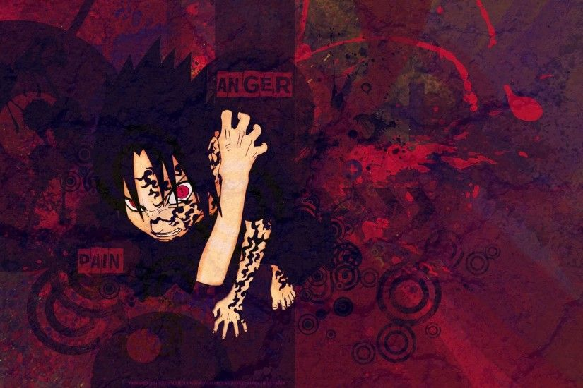 sharingan and curse seal sasuke uchiha hd anime wallpaper 1920x1200