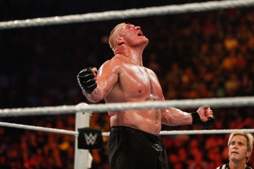 """RT MensFitnessWire: Brock Lesnar dethrones John Cena as highest-paid WWE  wrestler in according to Forbes: …"""