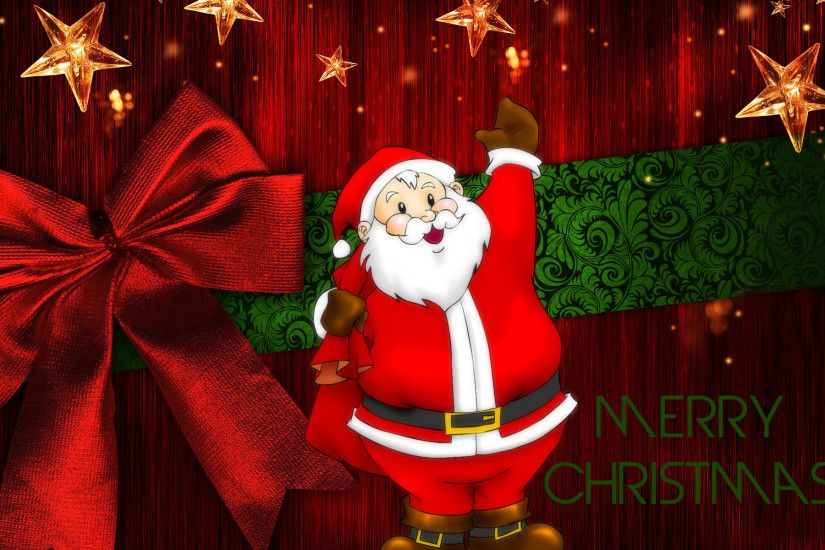 Christmas Wallpapers 16 Stunning High Resolution Christmas Wallpapers |  Crestock.com Blog Adorable Santa ...