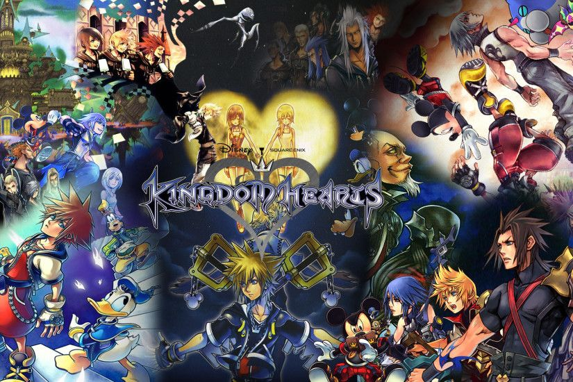 ... Kingdom Hearts Saga Banner/Wallpaper by The-Dark-Mamba-995