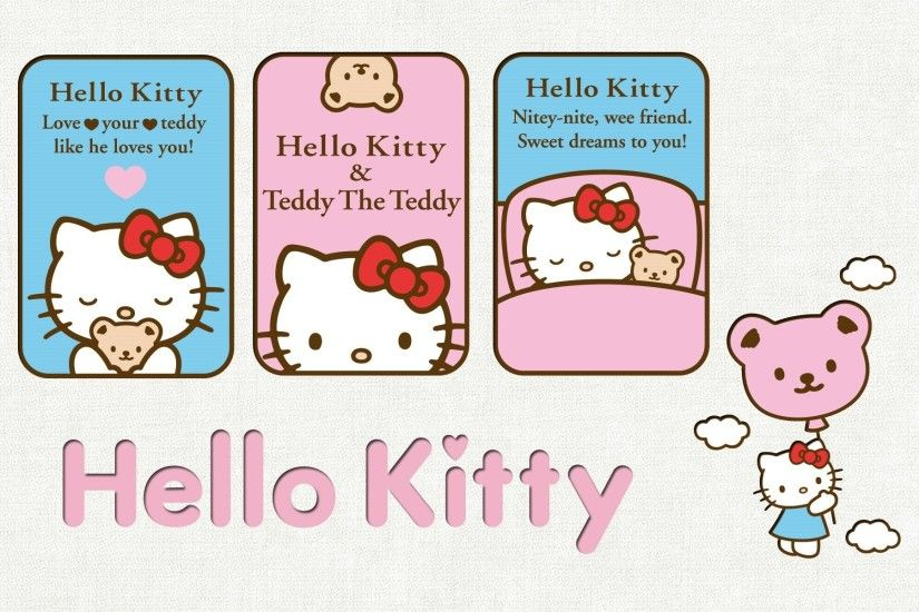 Hello Kitty Widescreen Wallpapers Wallpapers HD Wallpapers 86300