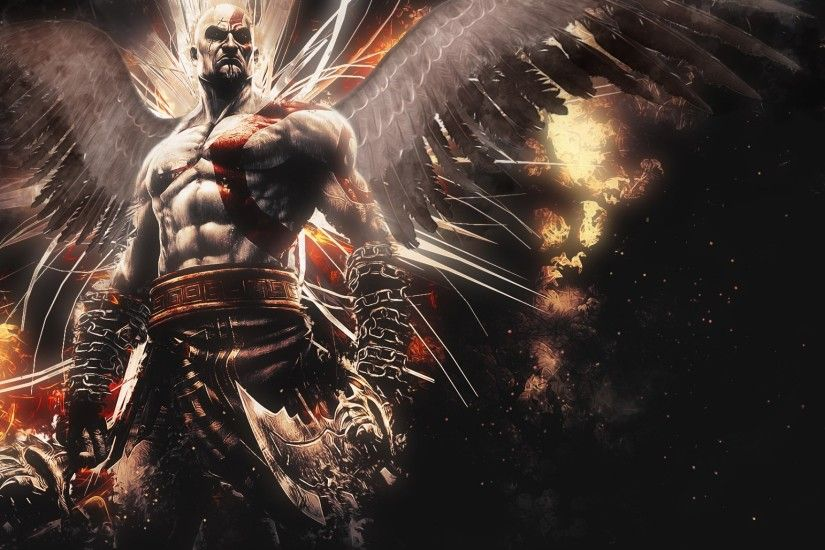 Preview wallpaper god of war, ascension, kratos 2048x1152