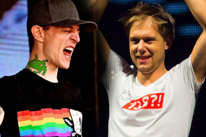 "Deadmau5 Goes Off On Armin van Buuren For His ""Technical Difficulty"" Stunt  at Tomorrowland - GDE"