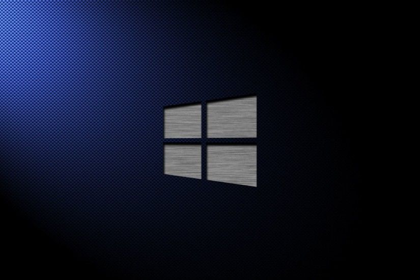 Metal Windows 10 on carbon fiber wallpaper - Computer wallpapers .