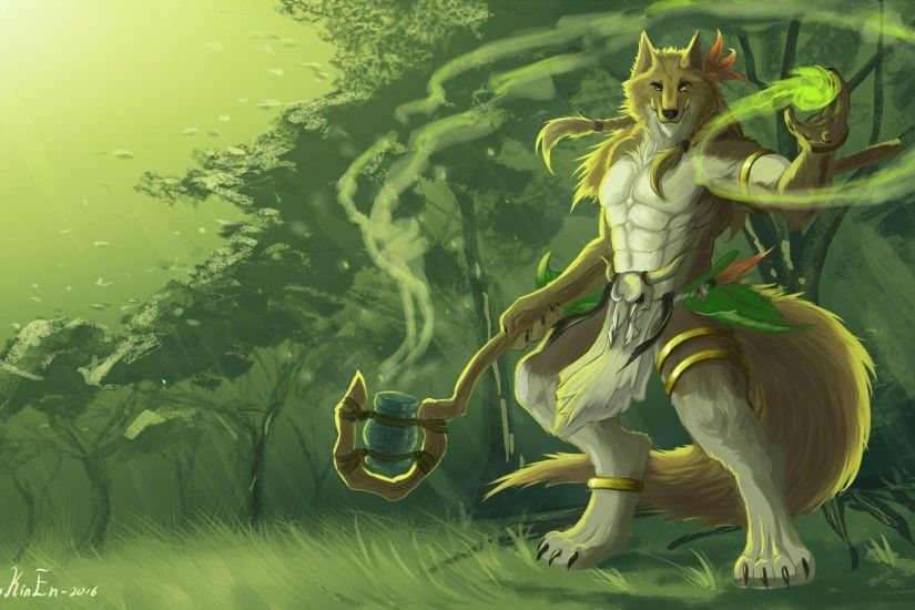 Anthro, Shaman, Furry