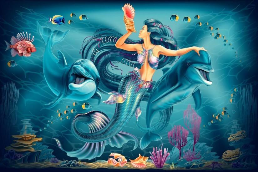 Mermaid wallpaper ·① Download free amazing full HD ...