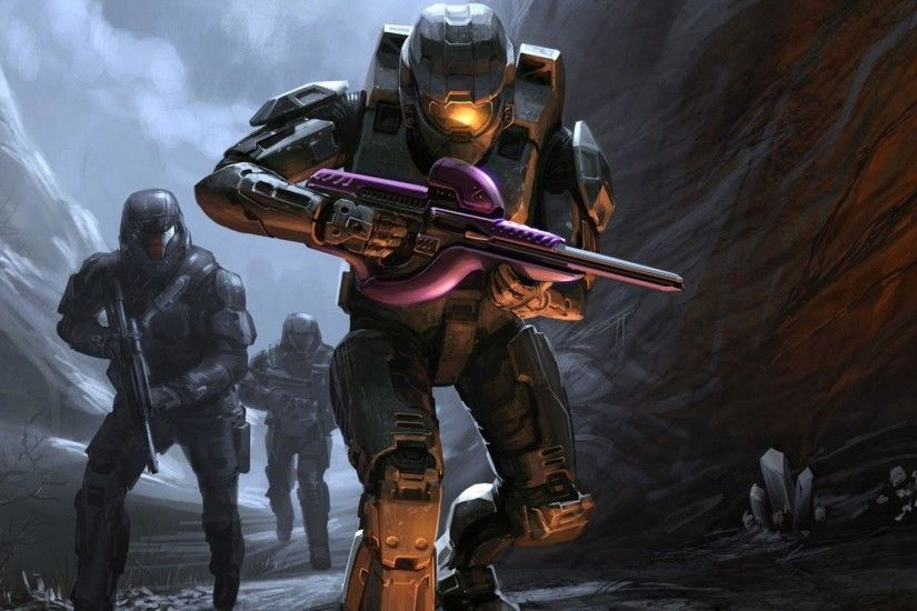 ... Wallpapers For > Halo 3 Wallpaper Master Chief And Arbiter .