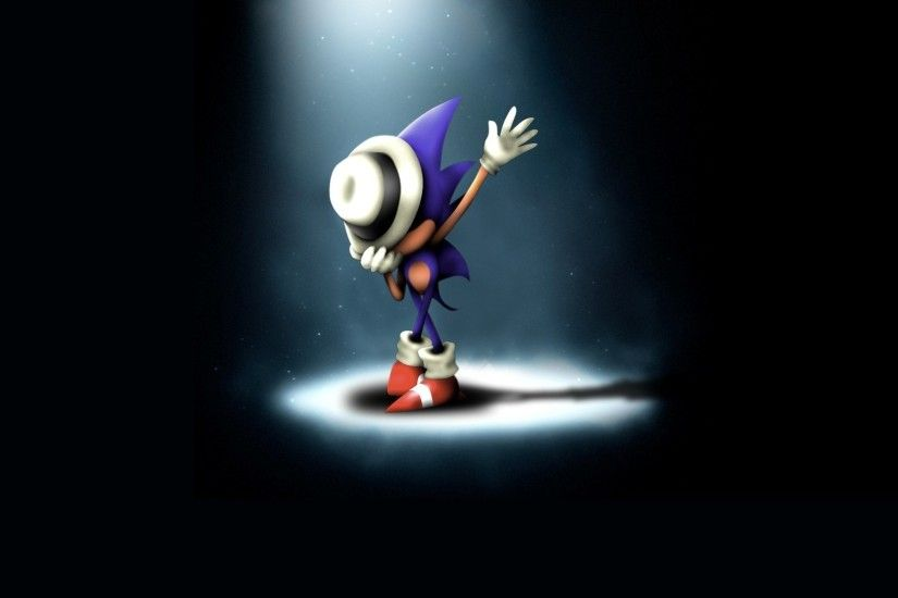 Sonic Hedgehog Michael Jackson Wallpaper