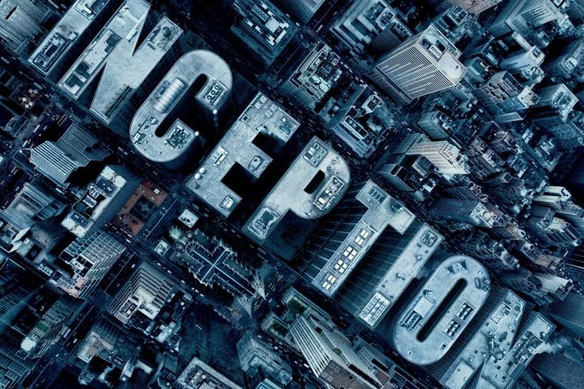 Inception, Skyscraper, Aerial View, Typography, City Wallpapers HD /  Desktop and Mobile Backgrounds