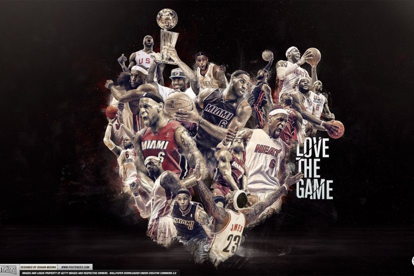Lebron James Wallpapers Journey to Redemption Lebron James Wallpapers Love  the Game ...