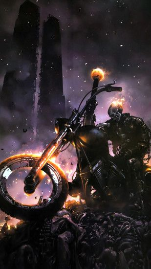 Ghost Rider LG G3 Wallpapers