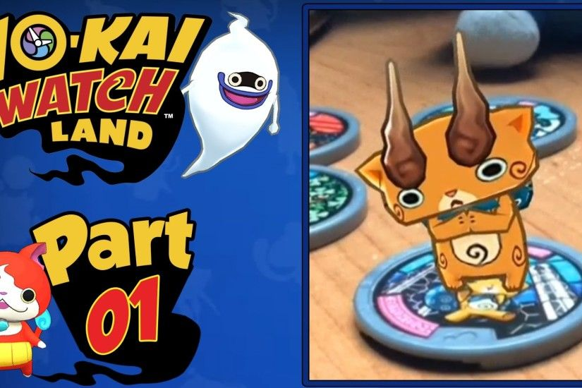 Yo-Kai Watch Land - Part 1 | A FREE Mobile App Available NOW + Giveaway! -  YouTube