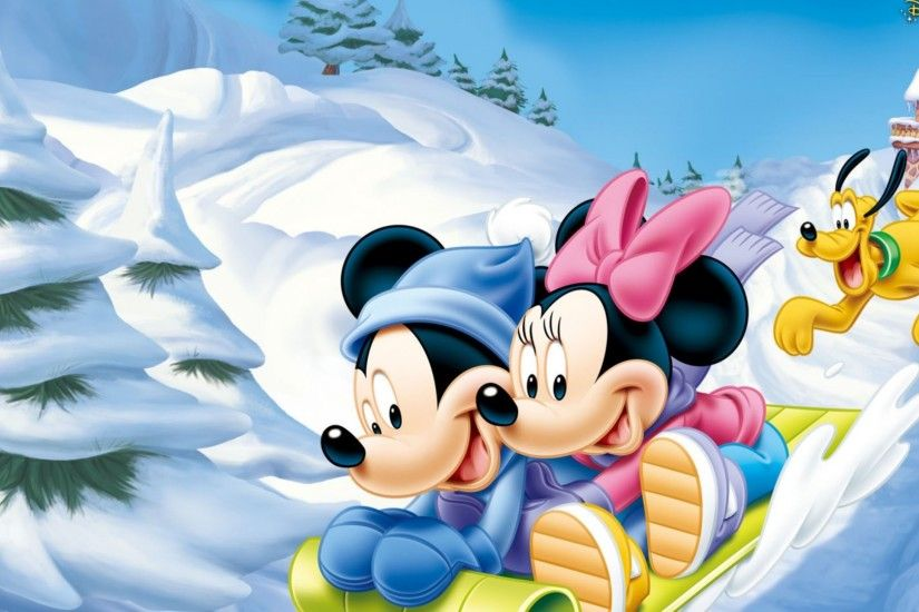 Disney Tree Mickey Presents Duck Donald Christmas Mouse Minnie Gifts Winter  Picture Backgrounds For Desktop