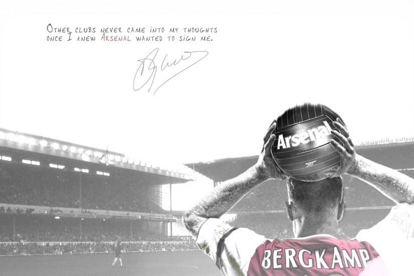 Dennis Bergkamp Arsenal Wallpaper