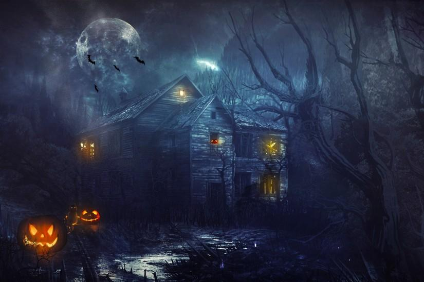 free download halloween wallpaper 1920x1200 for 4k