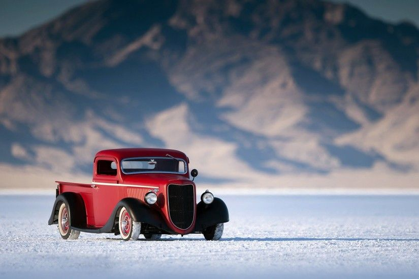 Ford Hot Rod Pickup Wallpaper
