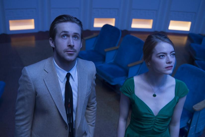 Movie - La La Land Ryan Gosling Emma Stone Wallpaper