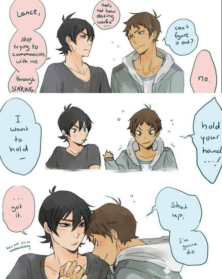 If they dated it would be like this 110 percent of the time<<this is what  I'm like with my girlfriend tbh XD. Keith Lance ...