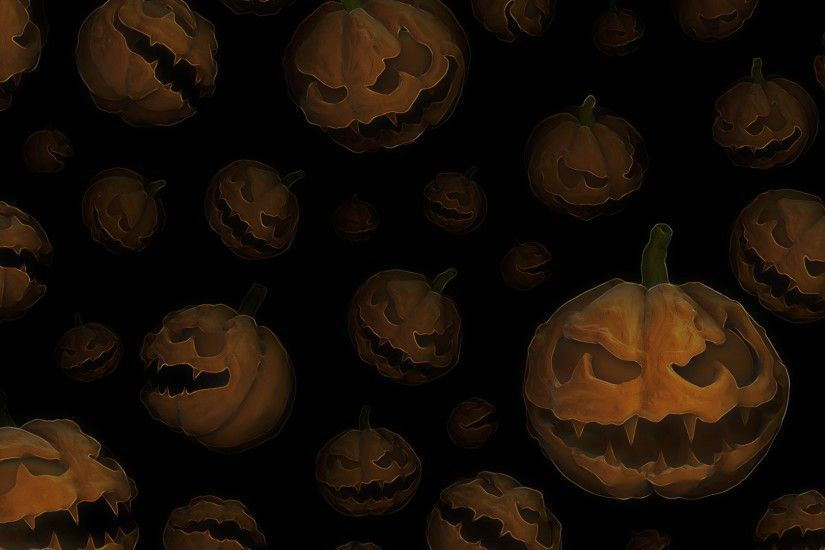 1920x1080 Alot of halloween pumpkins