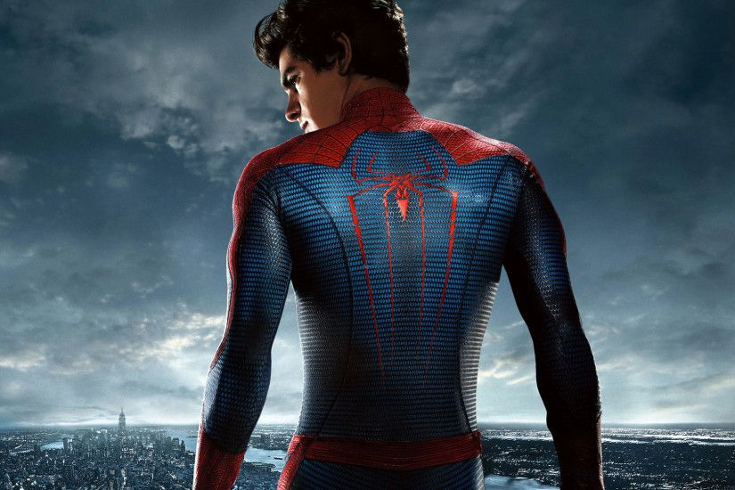hd pics photos attractive spiderman back side spider logo hollywood movie  stunning city superhero hd quality