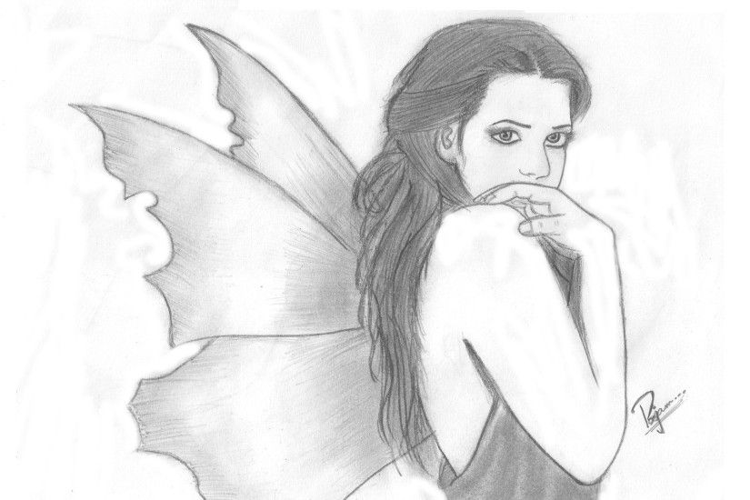 ... Sketches For Simple Girl Hd Wallpapers Love Romantic Sketches Hd  Wallpapers – Drawing Of Sketch ...