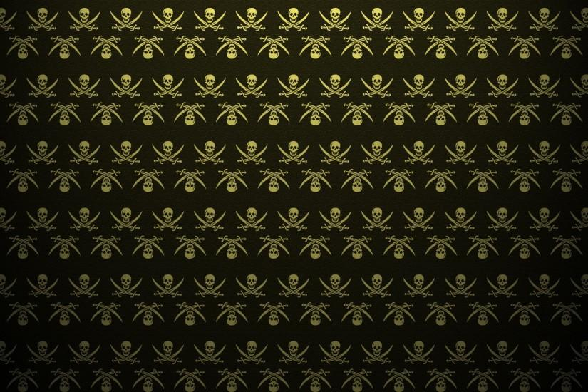 Abstract skulls death pattern pirates the pirate bay textures artwork skull  and crossbones backgrounds swords wallpaper | 1920x1200 | 10637 |  WallpaperUP