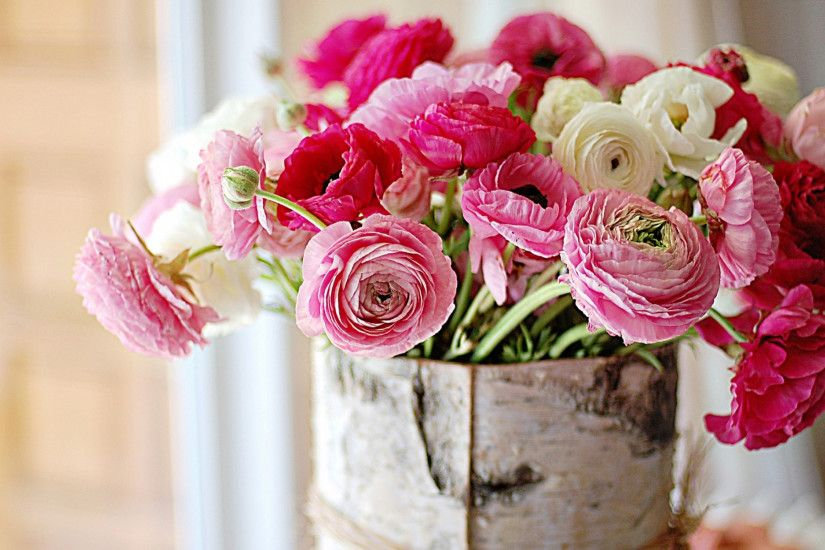 Fresh flowers peonies wallpapers and images - wallpapers, pictures .