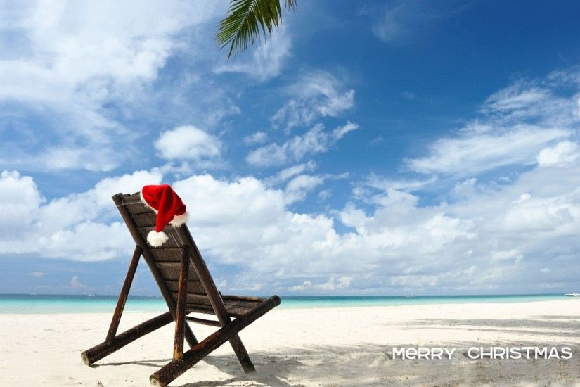 Merry Christmas At Beach | HD Christmas Wallpaper Free Download ...