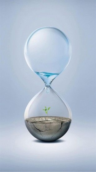 Hourglass Earth Water iPhone 6 Plus HD Wallpaper ...